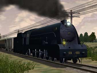 VAPOR 3D -Diseños para Ms Train Simulator-MZA 1801 y RENFE